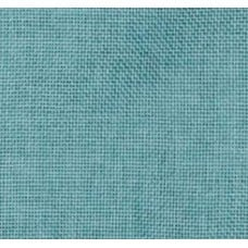 Burlap Vintage Style Fabric in Aqua Blue