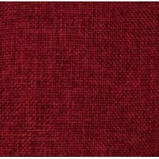 Burlap Vintage Style Fabric in Burgundy