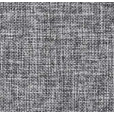 REMNANT - Burlap Vintage Style Fabric in Grey