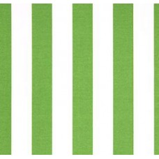 Bay Green and White Striped Outdoor Fabric