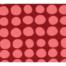 Love Sunspots in Wine Cotton Fabric by Amy Butler