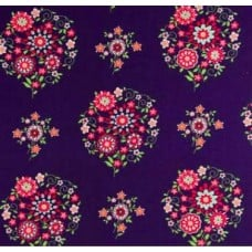 Memento in Midnight Cotton Fabric by Amy Butler