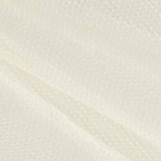 Nylon Mesh Netting Fabric in Cream