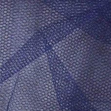 Nylon Mesh Netting Fabric in Navy