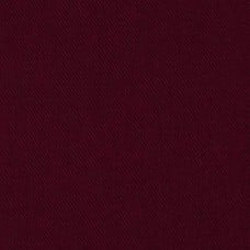 Heavy Brushed Denim Fabric Burgundy