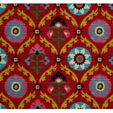Mayan Medallions in Desert Flowers by Waverly