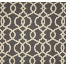 Yacht Trip in Emory Grey Home Decor Cotton - OFFCUT