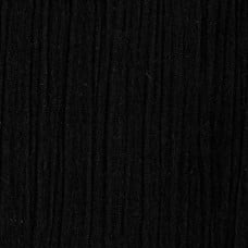 Lightweight Cotton Gauze Muslin Fabric in Black