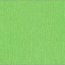 Lightweight Cotton Gauze Muslin Fabric in Lime