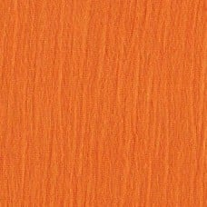 Lightweight Cotton Gauze Muslin Fabric in Orange