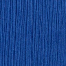 Lightweight Cotton Gauze Muslin Fabric in Royal Blue