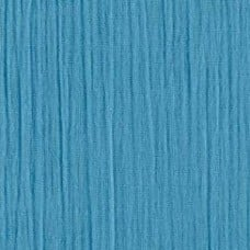 Lightweight Cotton Gauze Muslin Fabric in Turquoise