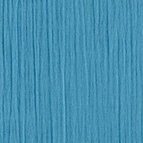 Lightweight Cotton Gauze Muslin Fabric In Turquoise Fabric Traders