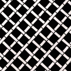 Criss Cross Cadence Outdoor in Ebony Black