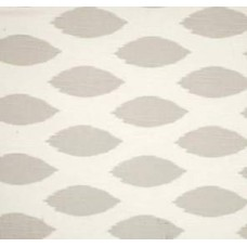 Go Chipper in French Grey on White Home Decor Cotton Fabric