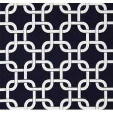 Gotchanow in Navy Blue Home Decor Cotton Fabric