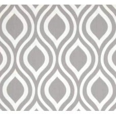Hey Nicole Grey Storm Home Decor Cotton Fabric