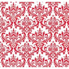 Madison Garden in Red Home Decor Cotton Fabric