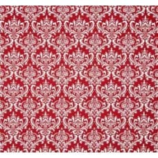 Madison in Red and White Home Decor Cotton Fabric