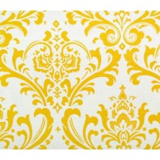 My Home Tradition in Yellow Home Decor Cotton Fabric