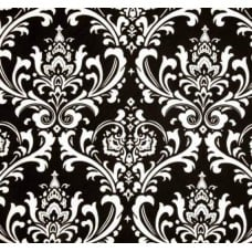 Osbourne Black and White Home Decor Cotton Fabric