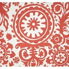 Susani in Coral Home Decor Cotton Fabric