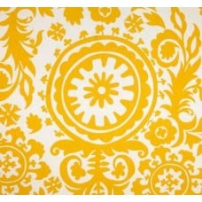 Susani Yellow Cotton Home Decor Cotton Twill