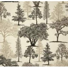 Treeline Toile Slub in Graphite Home Decor Fabric