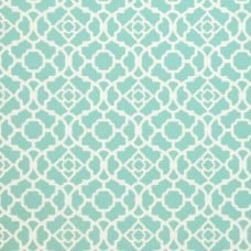 Waverly Lovely Lattice in Aqua Outdoor Fabric