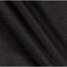 Double Knit Jersey Fabric in Solid Black