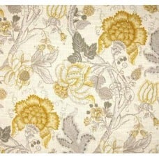 La Maison Florals in Yellow Home Decor Linen