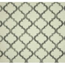 Climbing Lattice in Greystone Linen Blend Home Decor Fabric