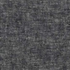 Cobblestone Black Linen Blend Fabric