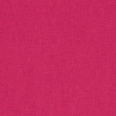 Hot Pink Linen Blend Fabric