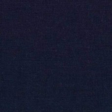 REMNANT - Linen Blend in Navy Fabric