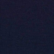 Linen Blend in Navy Fabric