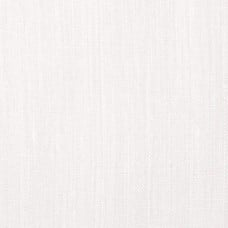 100% Washed Linen Fabric in White