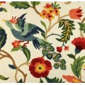 Birds & Floral Eden Luxe Home Decor Fabric
