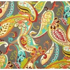 Whimsy Paisley In Mardi Gras Home Decor Luxe Fabric