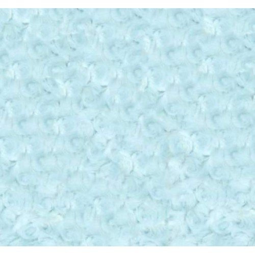 Minky Fabric Cuddle Shaggy In Baby Blue Fabric Traders