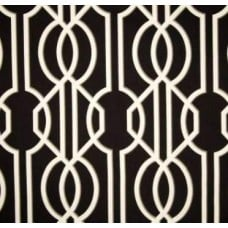 Art Deco in Black Home Decor Cotton Fabric