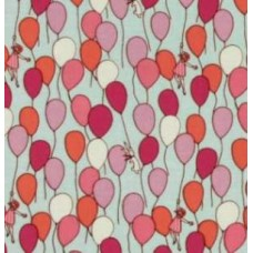 Balloon Children at Play Cotton Fabric by Michael Miller