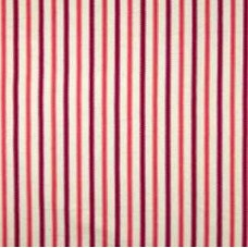 Coast Stripe in Tangerine Ticking Home Decor Fabric