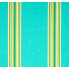 Green Ocean Cabana Stripe Outdoor Fabric