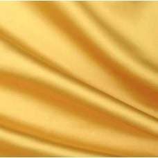 Satin Fabric in Yellow