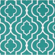 Gates of Starlet in Teal Outdoor Fabric