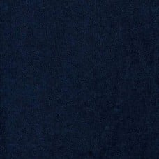 Terry Toweling Navy 100% Cotton Luxury Fabric