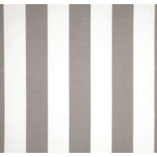 Stripe Storm Grey & White Outdoor Fabric