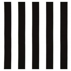Canopy Stripe Black & White Home Decor Cotton Fabric