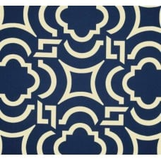 Cool Carmody in Navy Outdoor Fabric